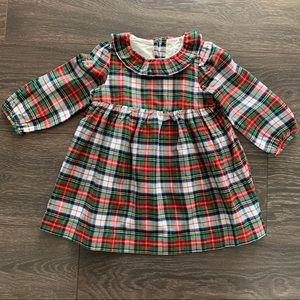 NWT Baby Gap Plaid Dress, 18-24 Months